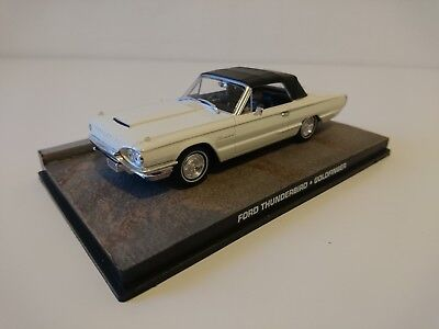 Ford Thunderbird 007 JAMES BOND 1:43 BOXED CAR MODEL Goldfinger 1964