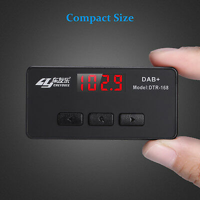 Stereo Car DAB DAB+ AUX FM Transmitter DAB+ Receiver Antenne AUX