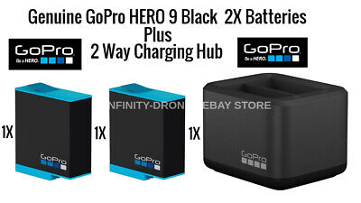 Genuine GoPro Hero 6/7/8 Black Action 4K Camera Extra Battery Rechargeable OEM