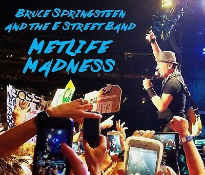 Bruce Springsteen - MetLife Madness 6-CD  Live Born To Run Badlands Hungry Heart