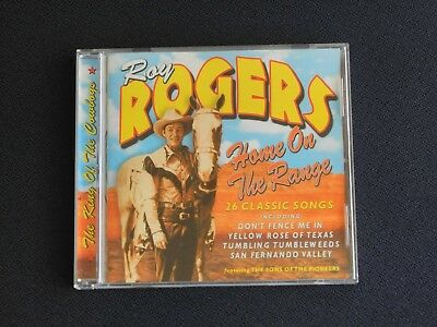 Roy Rogers - Home On The Range (Music CD)