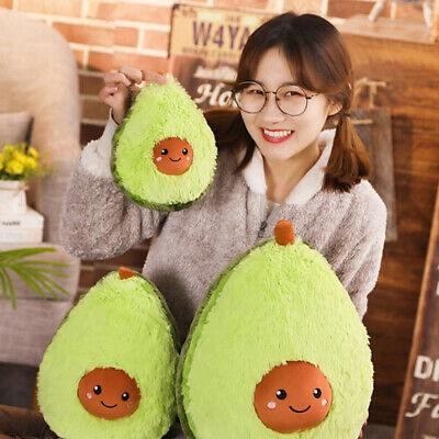 Avocado fruits plush toys stuffed dolls cushion pillow for kids children gift 0c