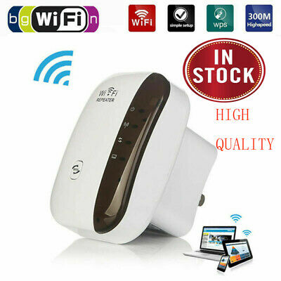 Wireless WiFi WifiBlast Wi-Fi 300Mbps Repeater Range Blast Extender Amplifier