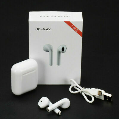 i10 Max tws Bluetooth 5.0 Earphones Wireless Earbuds Stereo For Android IOS
