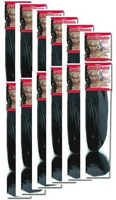 Super Jumbo Braid Silky - LQQKS - Pack of 12 units -