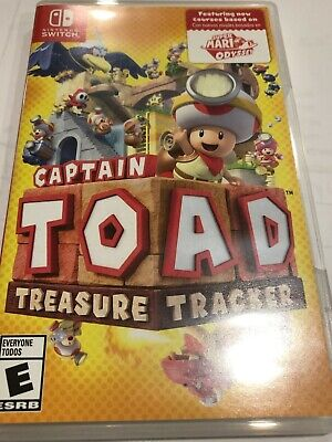 Captain Toad: Treasure Tracker for Nintendo Switch (2018) - Great Condition