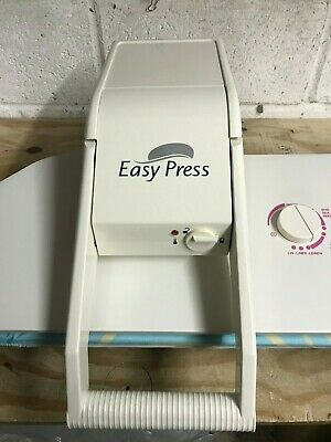 EASY PRESS DRY Ironing Press  Ex Demo model 3 MONTH WARRANTY Transfers /Ironing