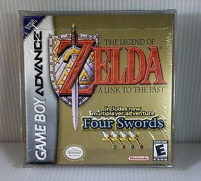 NEW ZELDA A Link to the Past + Four Swords Nintendo GameBoy Advance