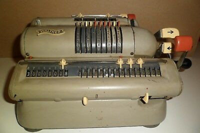 Ancienne Calculatrice Walther