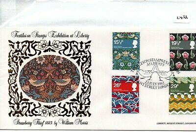 GB - FIRST DAY COVER - FDC - (2466) SPECIALS -1982 Textiles Liberty - pmk London