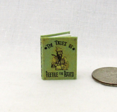THE TALES OF BEEDLE THE BARD Dollhouse Miniature Book 1:12 Scale Potter Magic