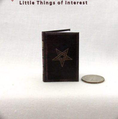NOVEM PORTIS THE NINETH GATE 1:6 Scale Readable Book Potter Magic Spell Book