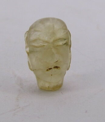 Ancient small unique Margiana quartz head bead Bactrian period from Afghanistan