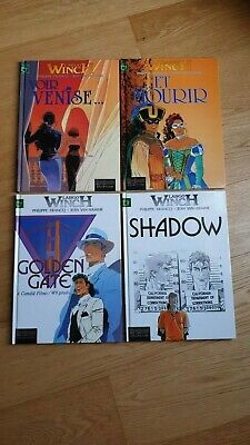 Largo Winch EO 9 10 11 12 Dupuis Shadow Voir Venise... et mourir Golden Gate