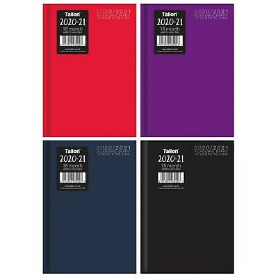 A5 Academic diary 2019 2020 Week to View Mid year Hardback Student Teacher Diary