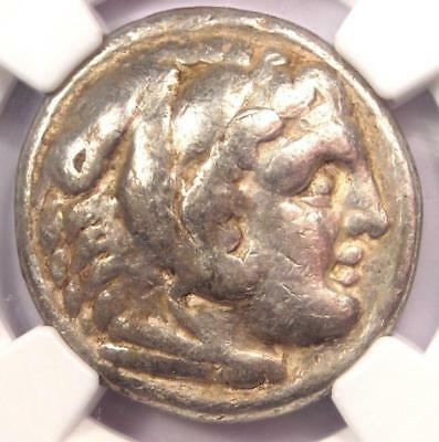 Alexander the Great III AR Tetradrachm Coin 336-323 BC - Certified NGC Fine!