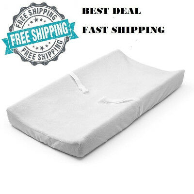 Baby Changing Table Pad Contoured Diaper Change Cushion Nursery Fast Shipping!!