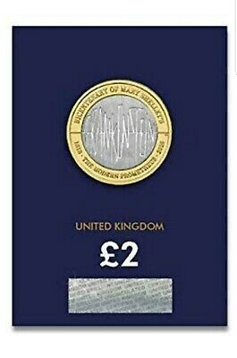2018 £2 Two Pound Coin Frankenstein Certified Brilliant Uncirculated