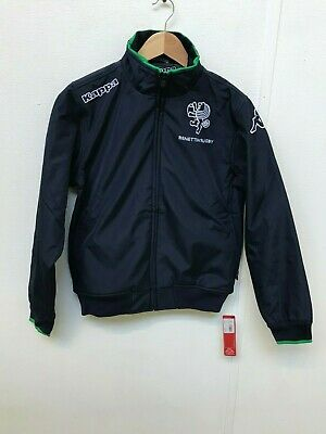 Benetton Rugby Kappa Men's Softshell Jacket - Various Sizes - Navy - New