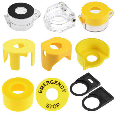 Plastic Switch Cover Protector for 22mm Diameter Push Button Switch