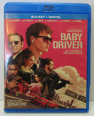 Baby Driver Blu-ray - excellent condition! Edgar Wright film