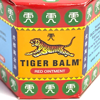 Tiger Balm Red Thai Herb Ointment Muscle Aches Pain Relief Massage Rub