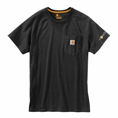 4ab92dc4 CARHARTT 100410 DELMONT Force Workwear Short Sleeve Pocket T Shirt ...