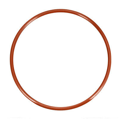 Silicone O-Ring 100mm-185mm OD 3.5mm Width VMQ Seal Rings Sealing Gasket Red