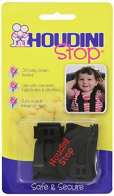 Houdini Stop Car Seat Chest Clip New
