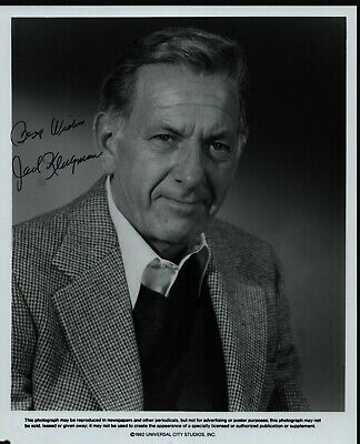 "JACK KLUGMAN Hand Signed Autographed 8x10"" Photo w/COA - THE ODD COUPLE - QUINCY"