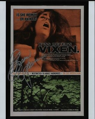 "ERICA GAVIN Hand Signed Autographed 8x10"" Photo w/COA - VIXEN - CAGED HEAT"