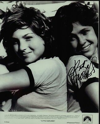 "KRISTY MCNICHOL Hand Signed Autographed 8x10"" Photo w/COA - LITTLE DARLINGS"