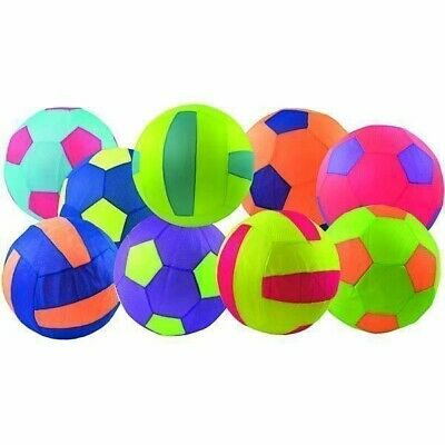 Xl Kids Mesh Inflatable Football Safe Easy Large Ball