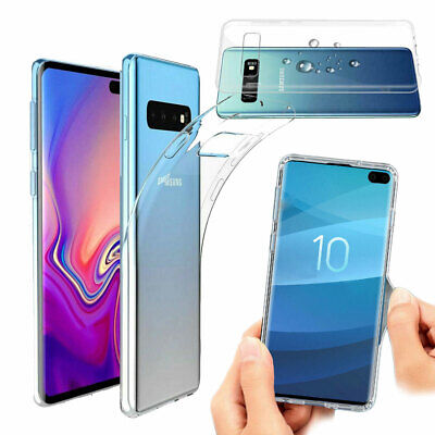 Ultra Thin Transparent Clear Bumper Case Cover For Samsung Galaxy S10 Plus S10e