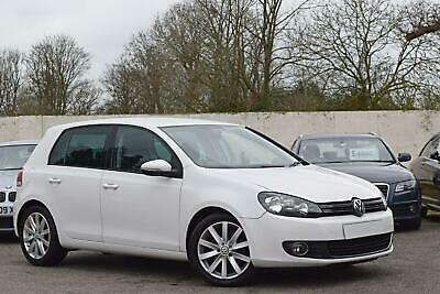 Vw Volkswagen Golf Gt 2.0 Tdi Diesel [140] Manual 5Dr Hatchback 2010 [59] White