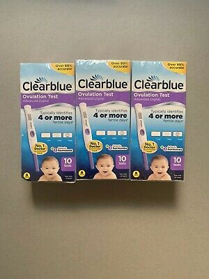 Clearblue Advanced Digital Ovulation Test with Dual Hormone Indicator x30 Sticks