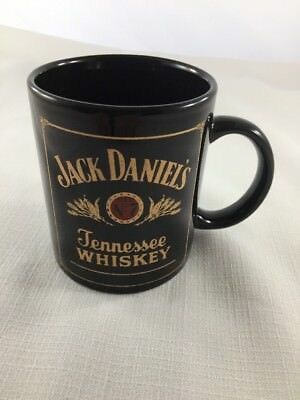 Jack Daniels Old No 7 Tennessee Whiskey Black Gold And Red Coffee Mug