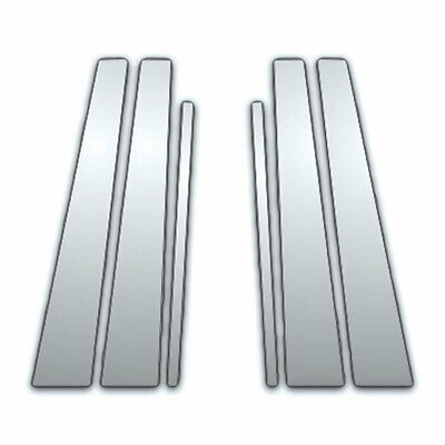 6Pc Chrome Pillar Side Covers for 97-99 Cadillac Deville