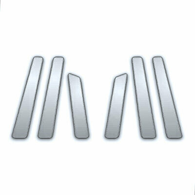 6Pc Chrome Pillar Side Covers For 09-14 Nissan Murano