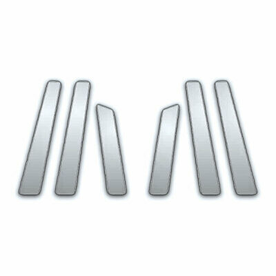6Pc Chrome Pillar Side Covers For 08-13 Nissan Rogue