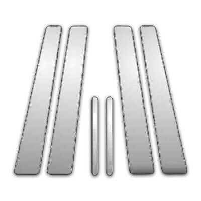6Pc Chrome Pillar Side Covers for 01-07 Toyota Sequoia