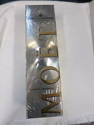 Moet & Chandon Champagne Gold Gift Box /empty