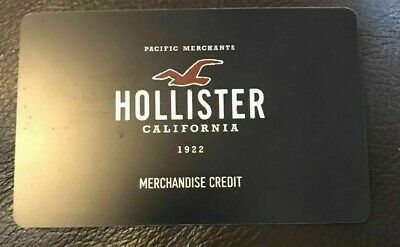 Hollister Merchandise Credit / Gift Card $97.96 Asking $72.50