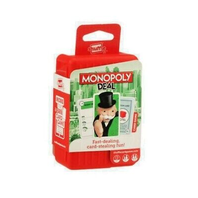 Monopoly Deal Card Game by Hasbro Gaming - Shuffle
