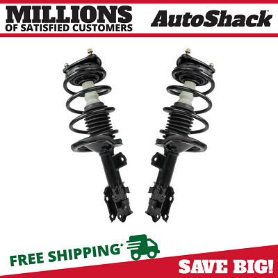 Front Pair (2) Complete Strut Assembly w/Coil Spring Fits 2006-2010 2011 Kia Rio