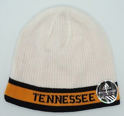 c32848e276f NCAA Tennessee Volunteers Adidas Adult Reversible Winter Knit Hat Cap Beanie  NEW