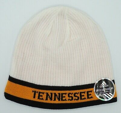 reputable site 9eb03 9e8a7 NCAA Tennessee Volunteers Adidas Adult Reversible Winter Knit Hat Cap Beanie  NEW