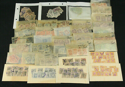 Huge Collection Lot 2500+ Estonia Russia Baltic Fiscal Tax Revenue Duty Stamps
