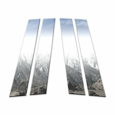 Auto Reflections 4p Stainless Pillar Post Covers fit for 2010-16 Volvo XC60 [4p]