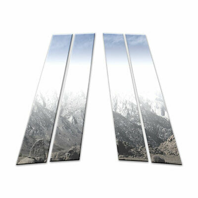 Auto Reflections 4p Stainless Pillar Post Covers fit for 2011-15 Volvo S60 [4p]